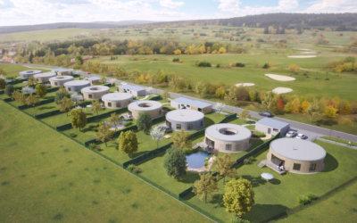 Golfové domy na Kořenci - projekt roku 2017.